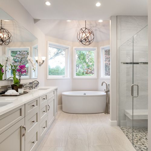 110k gray cabinets bathroom design ideas  remodel