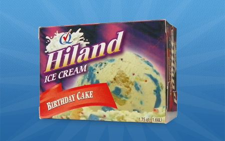 Hiland Dairy | Products | Birthday Cake #HilandDairy
