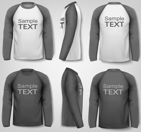 Download Click Here Download Template Kaos 3 4 Cdr Sketsa Model Pakaian Model Pakaian Kaos