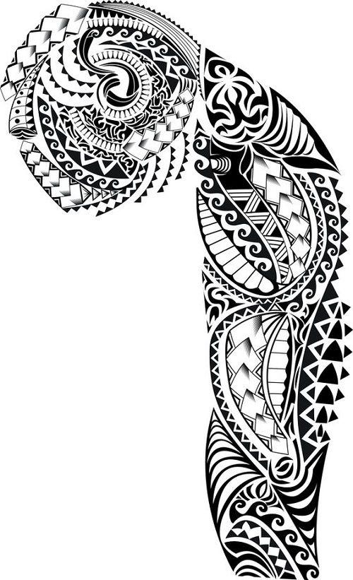 Plantillas Tatuajes Polinesios Maorie Samoano Guardados Tatuajes