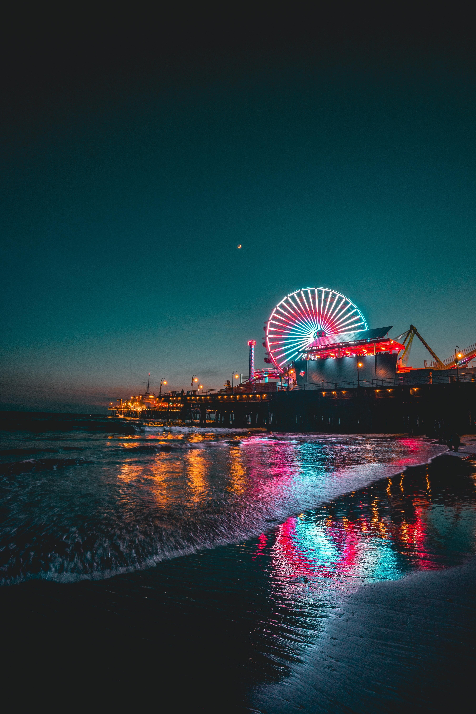 Santa Monica California Usa Color Of Life Nature
