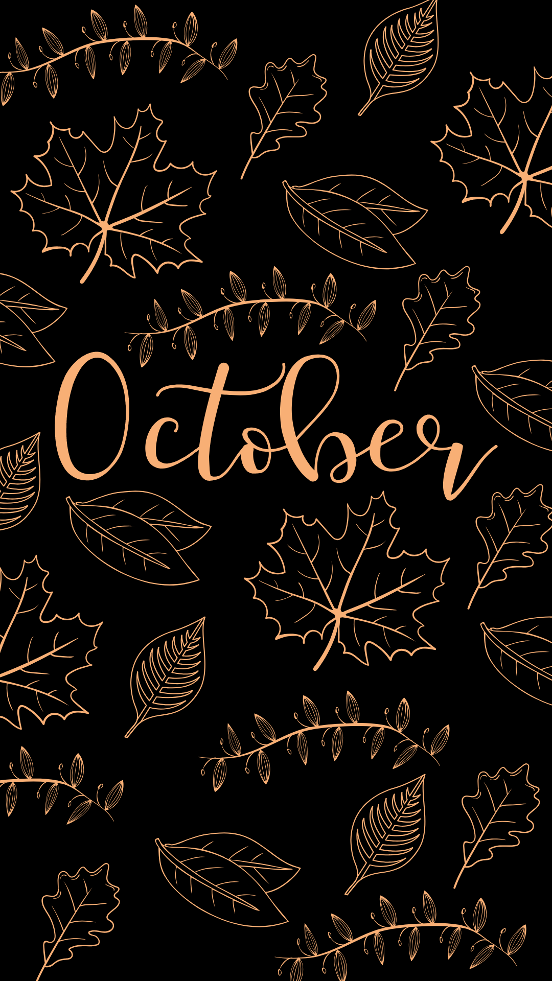Fall October Wallpaper