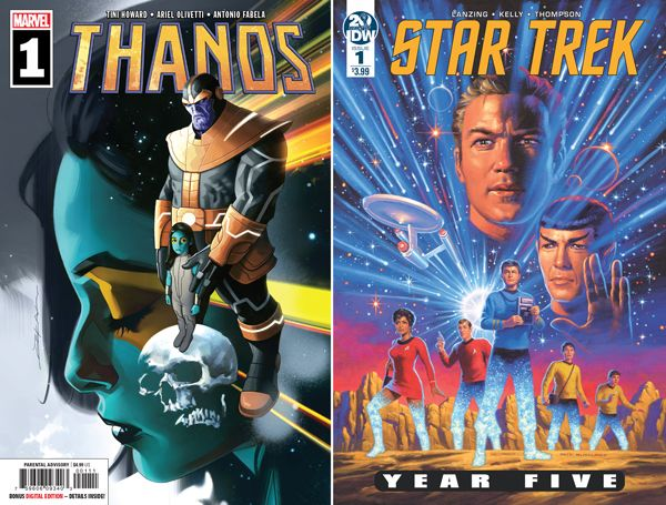 New comics tomorrow! New first issues of Thanos and