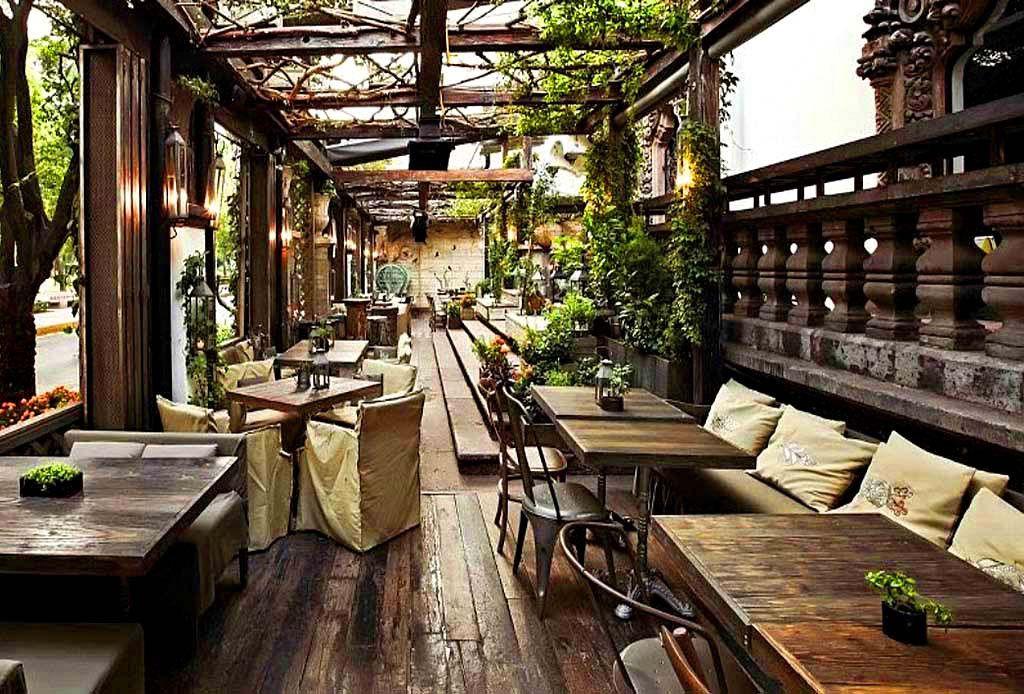Los Restaurantes Más Acogedores De La Cdmx Diseño De