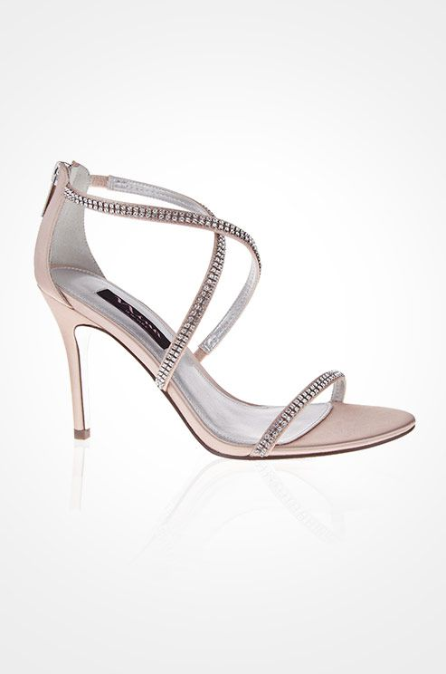 Light Pink Sandals From Nina Are A Fabulous Option For The Bride Who Wants Subtle
