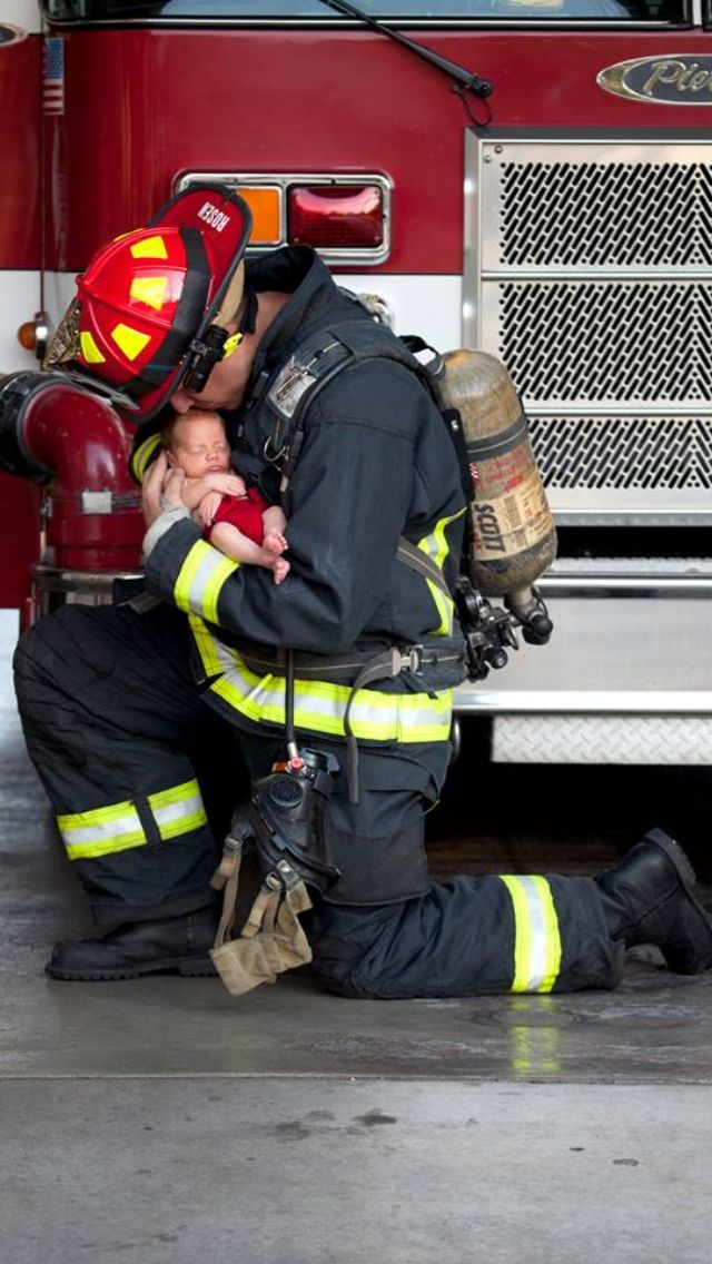 Pin by Kristen Brehmer on Firefighting | Newborn ...