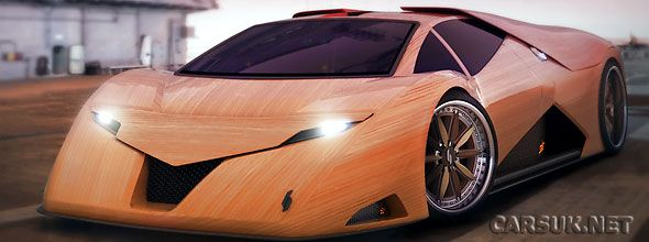 Splinter The Wooden Supercar By Joe Harmon Super Cars Unique Cars Made Of Wood