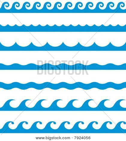 wave border clip art baby shower pinterest clip art patterns rh pinterest com Blue Ocean Wave Border Wave Border Template
