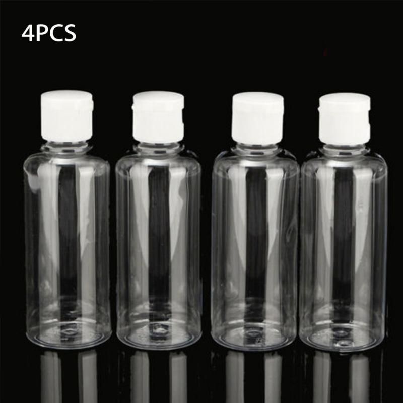 Makeup Container Bottle Empty Squeeze Jar Clear Plastic Travel
