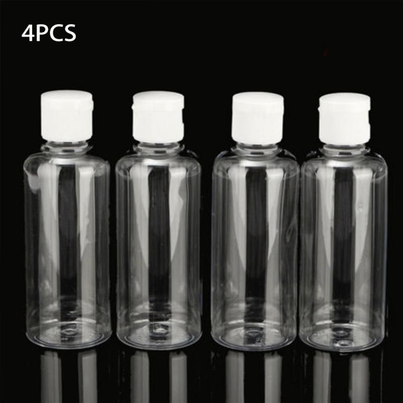 Makeup Container Bottle Empty Squeeze Jar Clear Plastic Travel