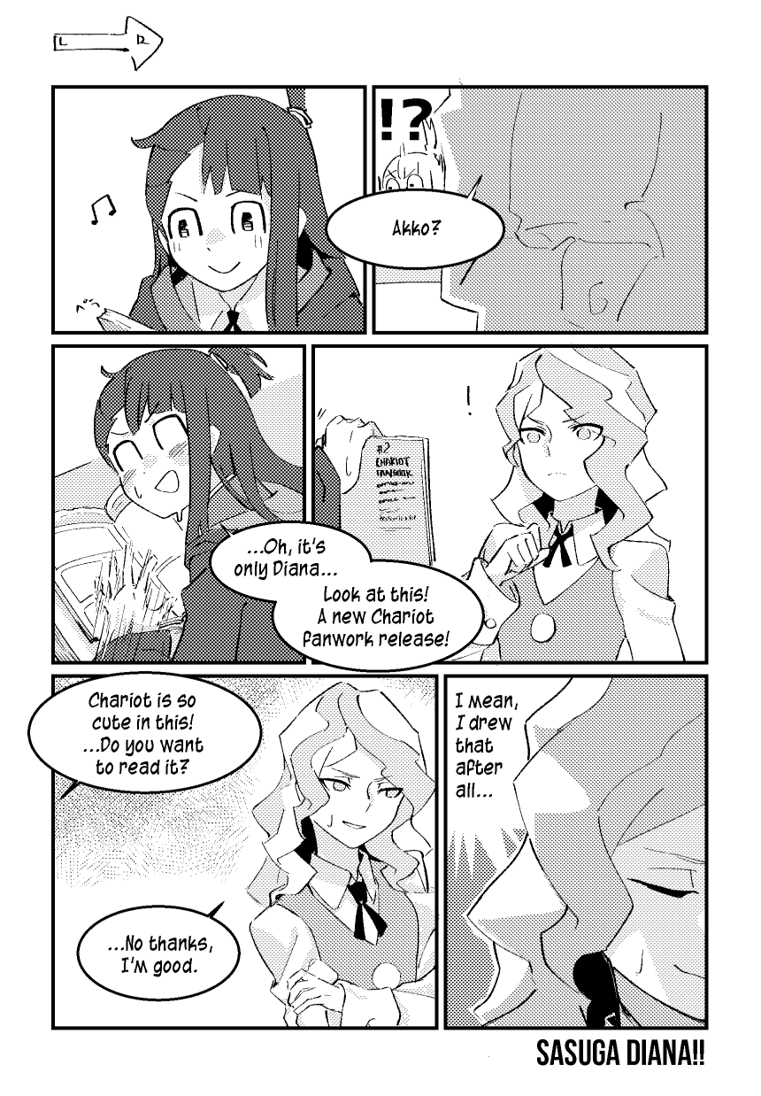 Croix Did Nothing Wrong Photo Little Witch Academy My Little Witch Academia Comic Tutorial