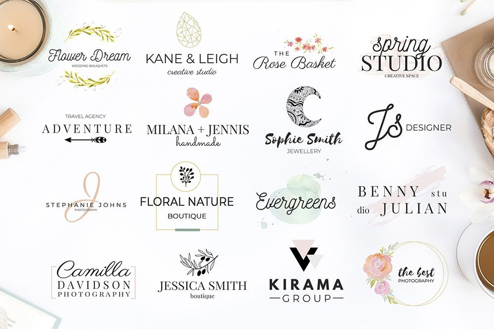 Premade Canva logo templates for any business # ...