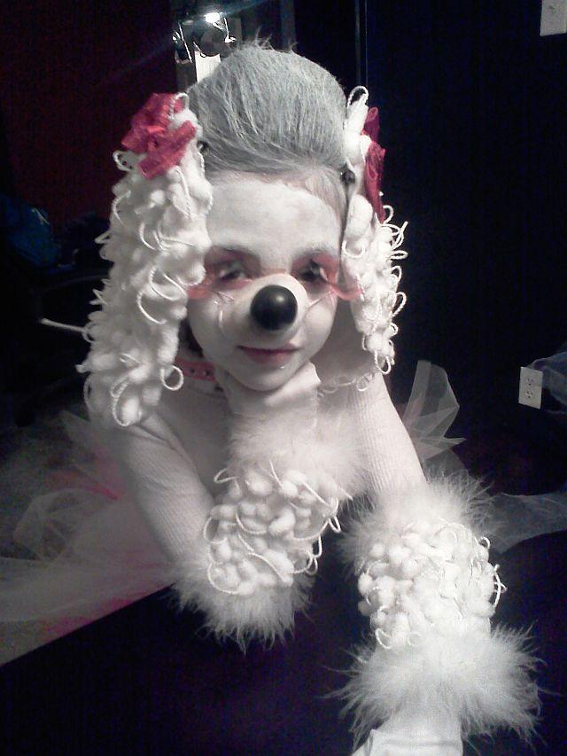 Poodle Costume Poodle Dog Costume