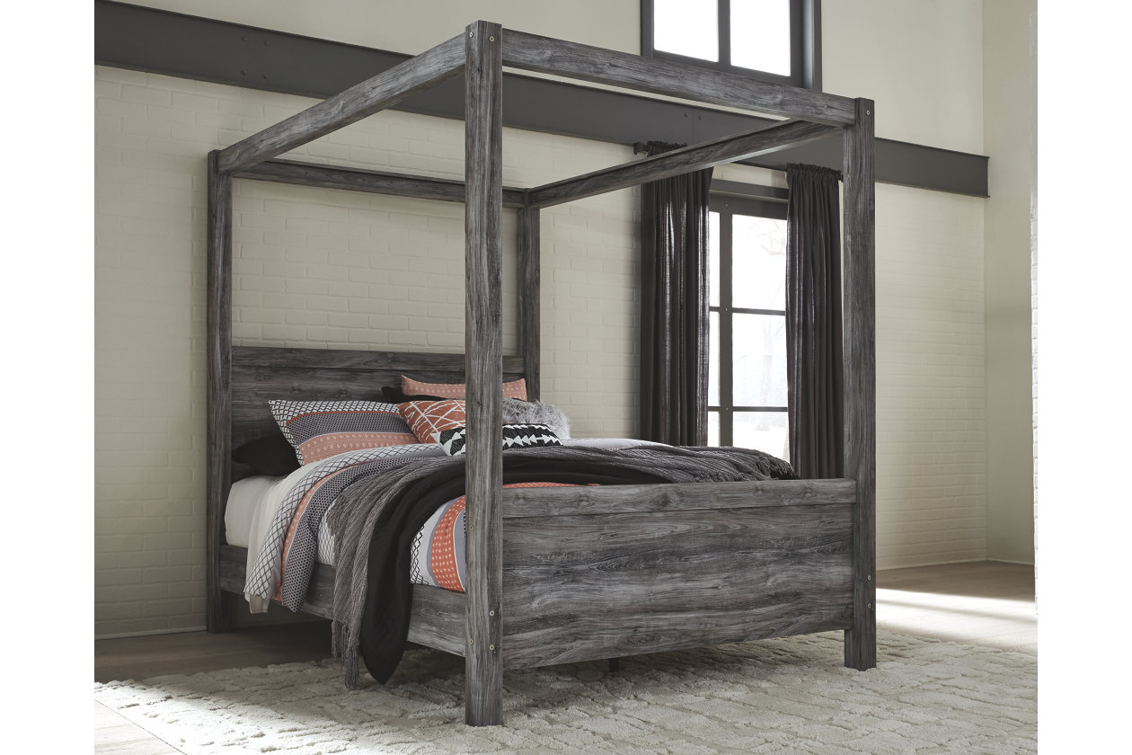 Baystorm Queen Poster Bed Queen Canopy Bed Canopy Bedroom Sets