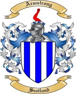 Armstrong Family Crest | Armstrong Family Crest from Scotland by The