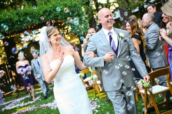 Wedding Bubbles Walking Back Down The Aisle33 Designing And Creativity In