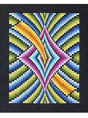 New Quilt Patterns - Mystique Bargello Quilt Pattern