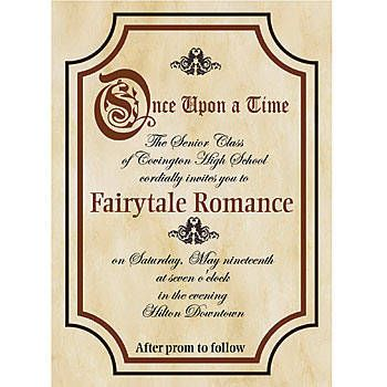 Once Upon A Time Stationary Invitations | Magical wedding and Weddings