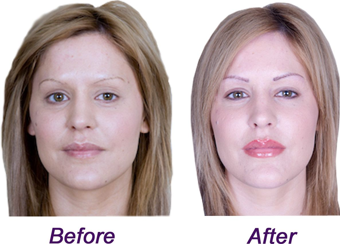 Before and after semi permanent makeup photo archives