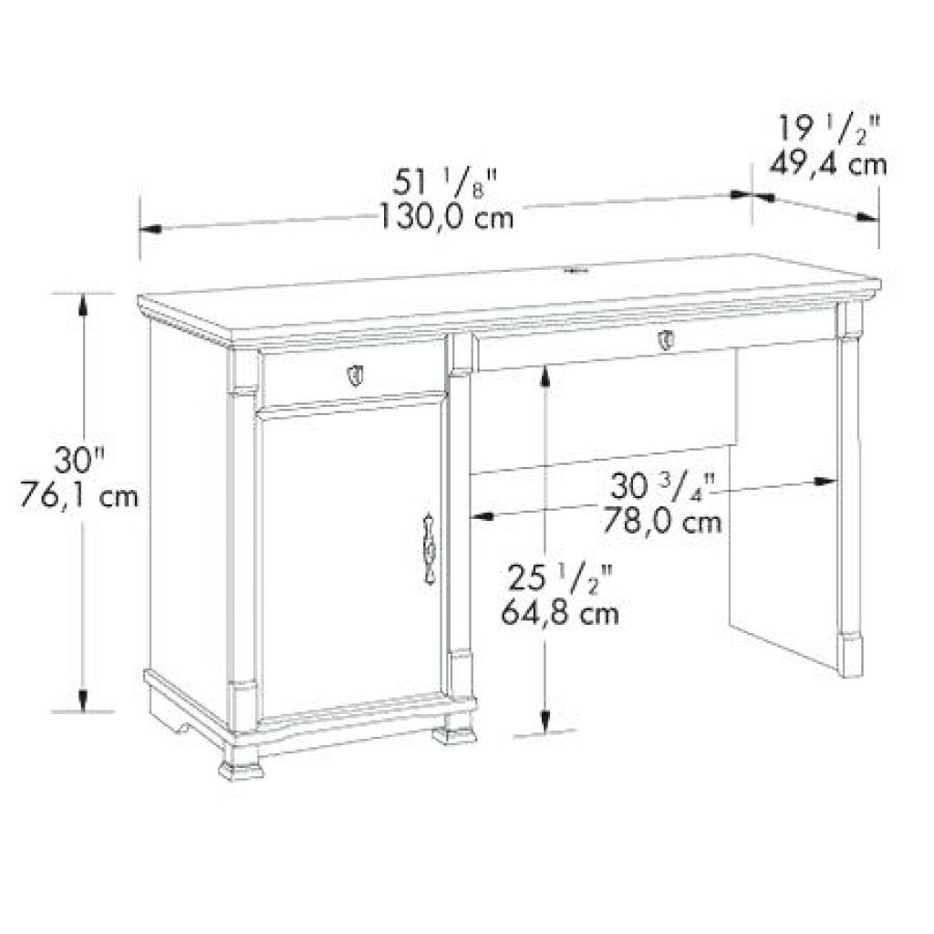 Desk Drawer Dimensions - Best Drawer Model  Computer table