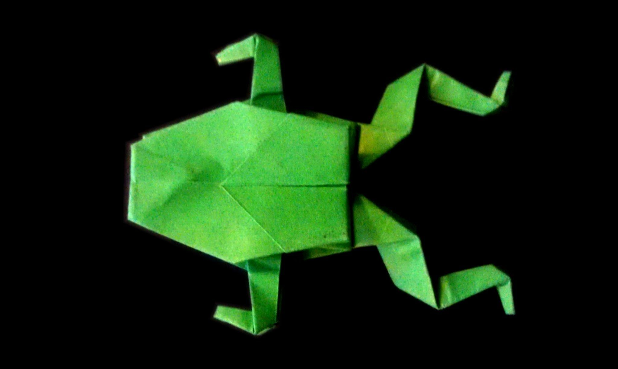 Easy step by step tutorial on how to make origami frog subscribe easy step by step tutorial on how to make origami frog subscribe jeuxipadfo Images