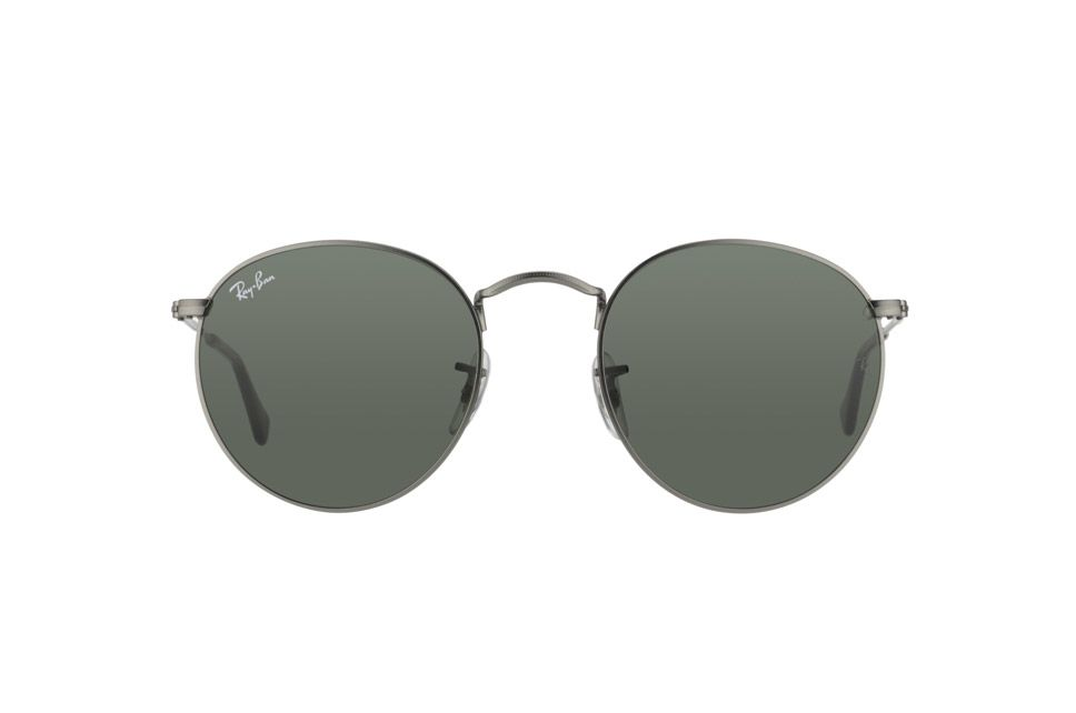 27d8a27bd10 Zoom Ray-Ban Round Metal RB 3447 029 front view
