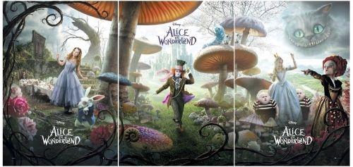 Alice In Wonderland 3 Piece Movie Poster Set Ebay Alice In Wonderland Poster Alice In Wonderland Characters Adventures In Wonderland