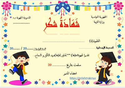 ملفات رقمية شهادات تفوق لاطفال التحضيري Education Map Blog Posts