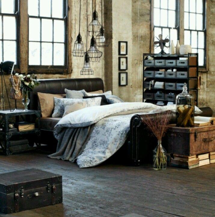 Bedroom With Images Industrial Bedroom Design Bedroom Design Bedroom Styles