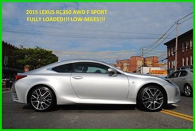 2015 Lexus RC RC 350 RC 350 Coupe AWD F Sport F Sport Navigation