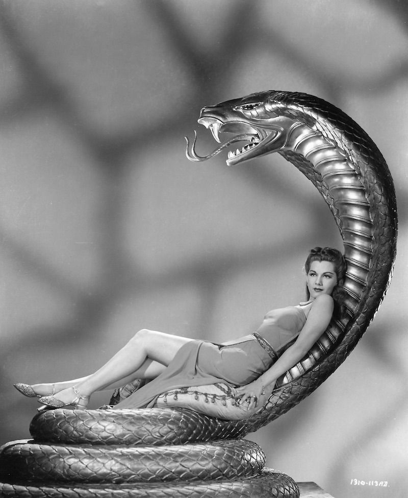 1944 Photograph Of Screen Beauty Maria Montez In Universal Pictures South Seas Adventure Film Cobra Woman Adventure Film Universal Pictures Adventure Movies