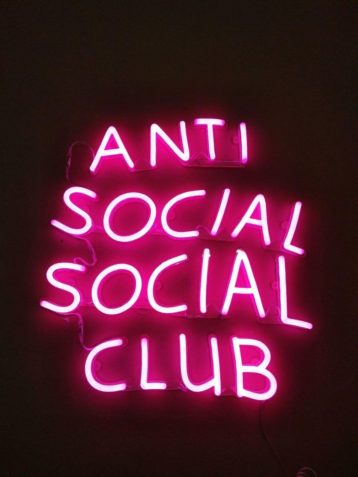 Pin by Brooke Whitt on antisocial social club Neon