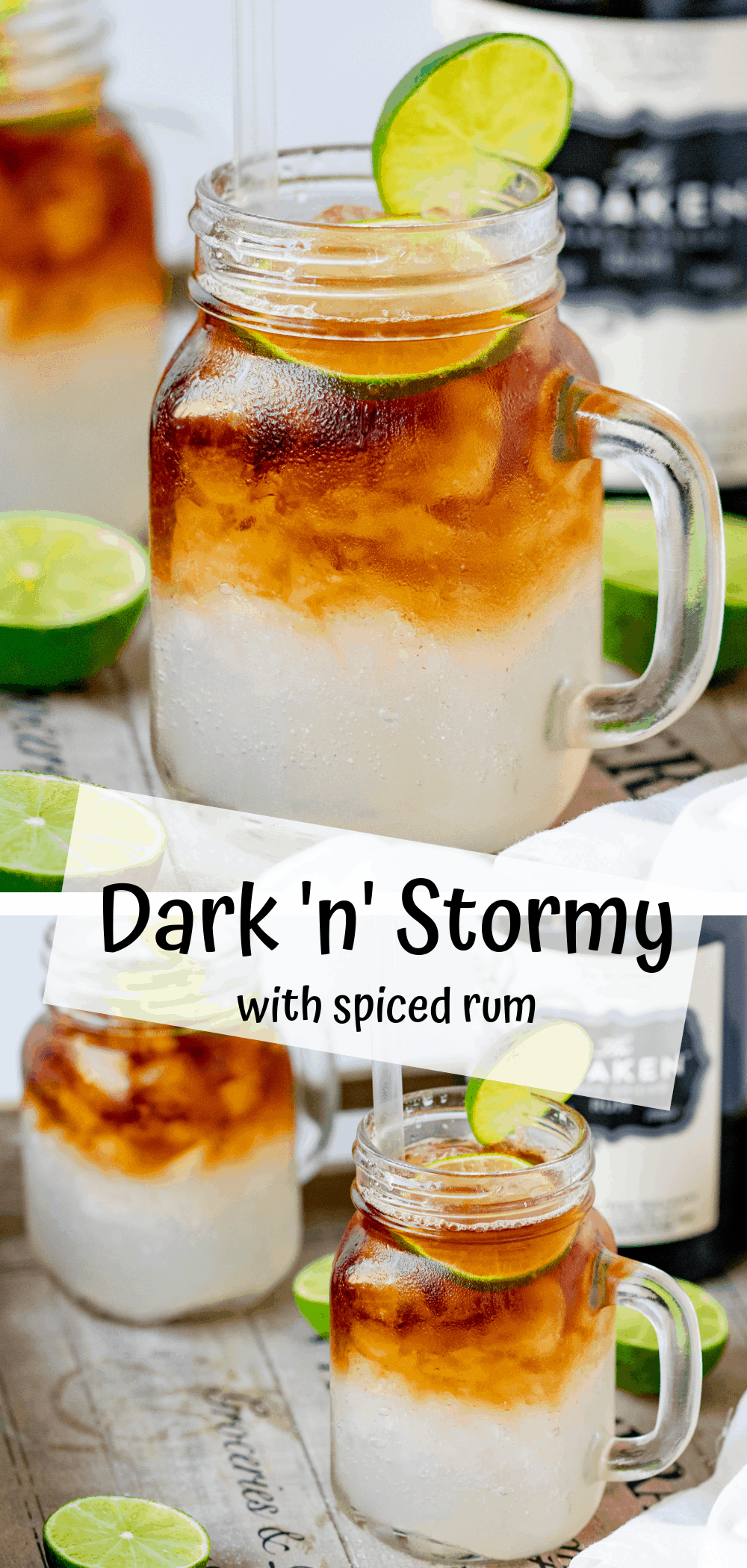 Easy Dark 'N' Stormy Cocktail Recipe