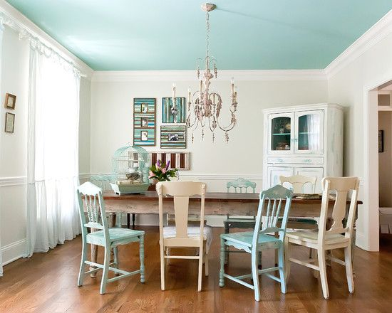 Ceiling Paint Color Inspiration