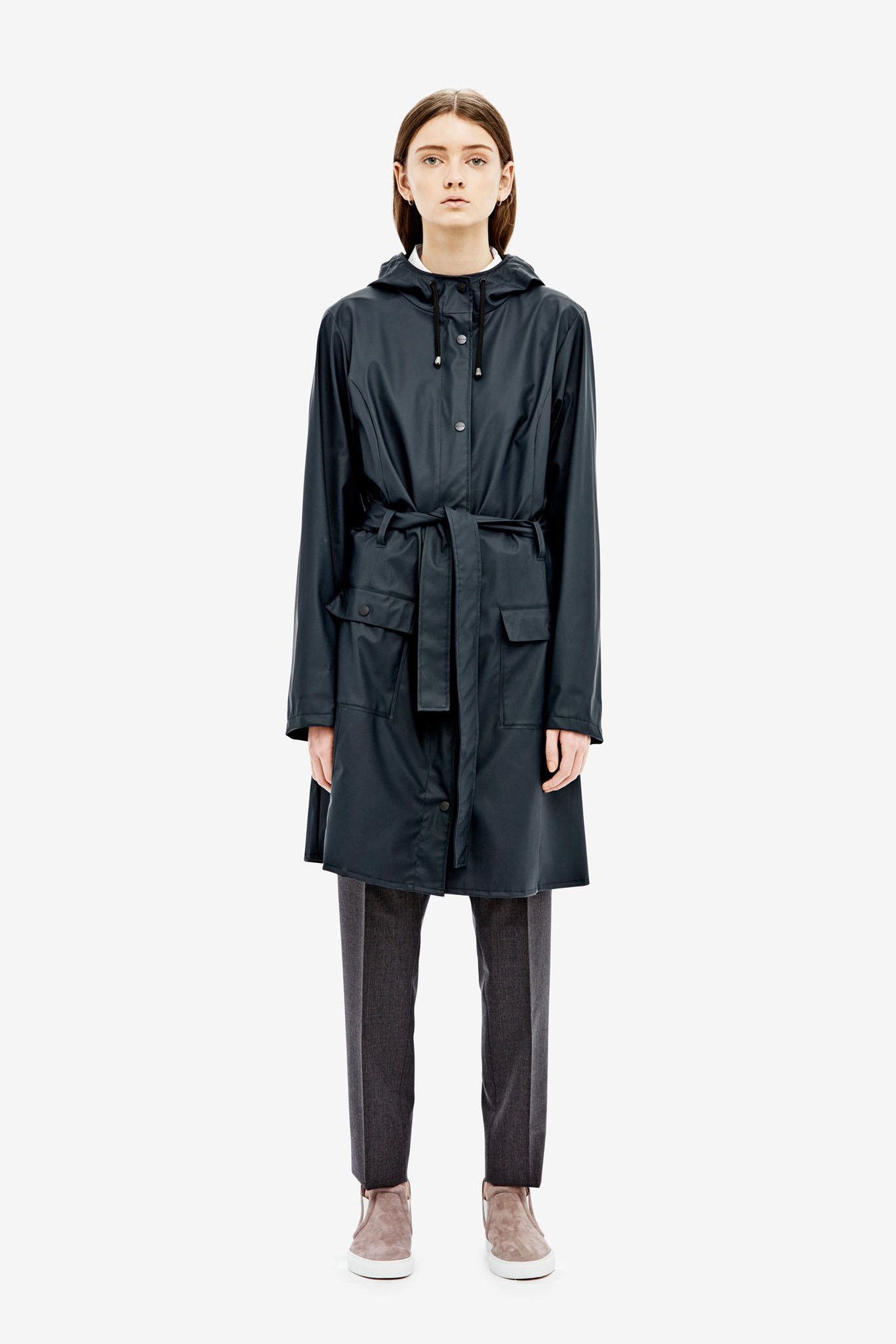The Curve Jacket is a modern interpretation of a classic trench coat. The CURVE JACKET is made from our signature, light-weighted fabric and combines bo...