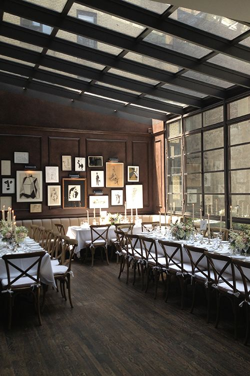 A Stylish New York Wedding Inspired By Old Hollywood