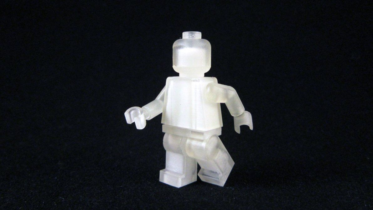 3D Printed LEGO Minifigure by mingles on DeviantArt 3d