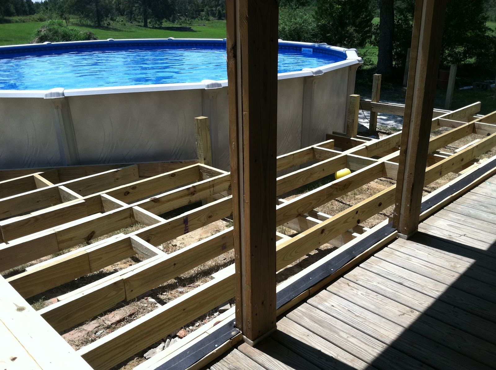 Add To Existing Deck For Pool Google Search Pool Deck Plans In Ground Pools Above Ground Pool Decks
