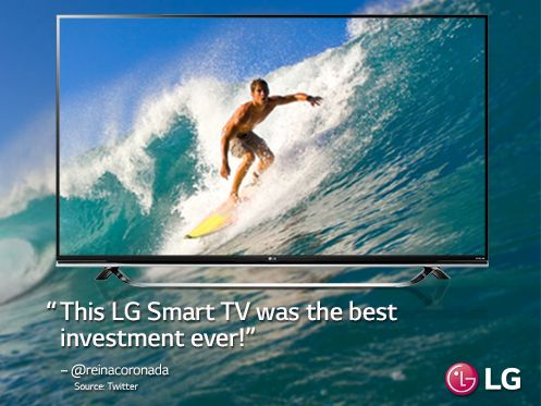 Not all people invest this wisely. http://www.lg.com/us/experience-tvs/smart-tv/enjoy.jsp. #TV
