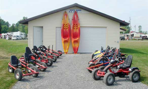 North Shore RV Park at Carrying Place, Ontario, Canada - Passport America Discount Camping Club