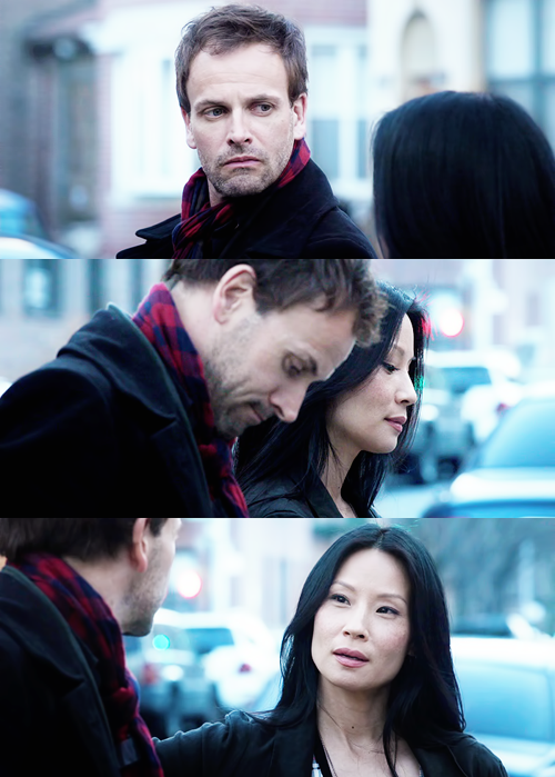 """Holmes and Watson (""""Elementary"""")  Do you think that anything would happen between Holmes & Watson, I hope so"""