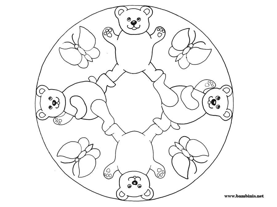mandalas for kids coloring home pages