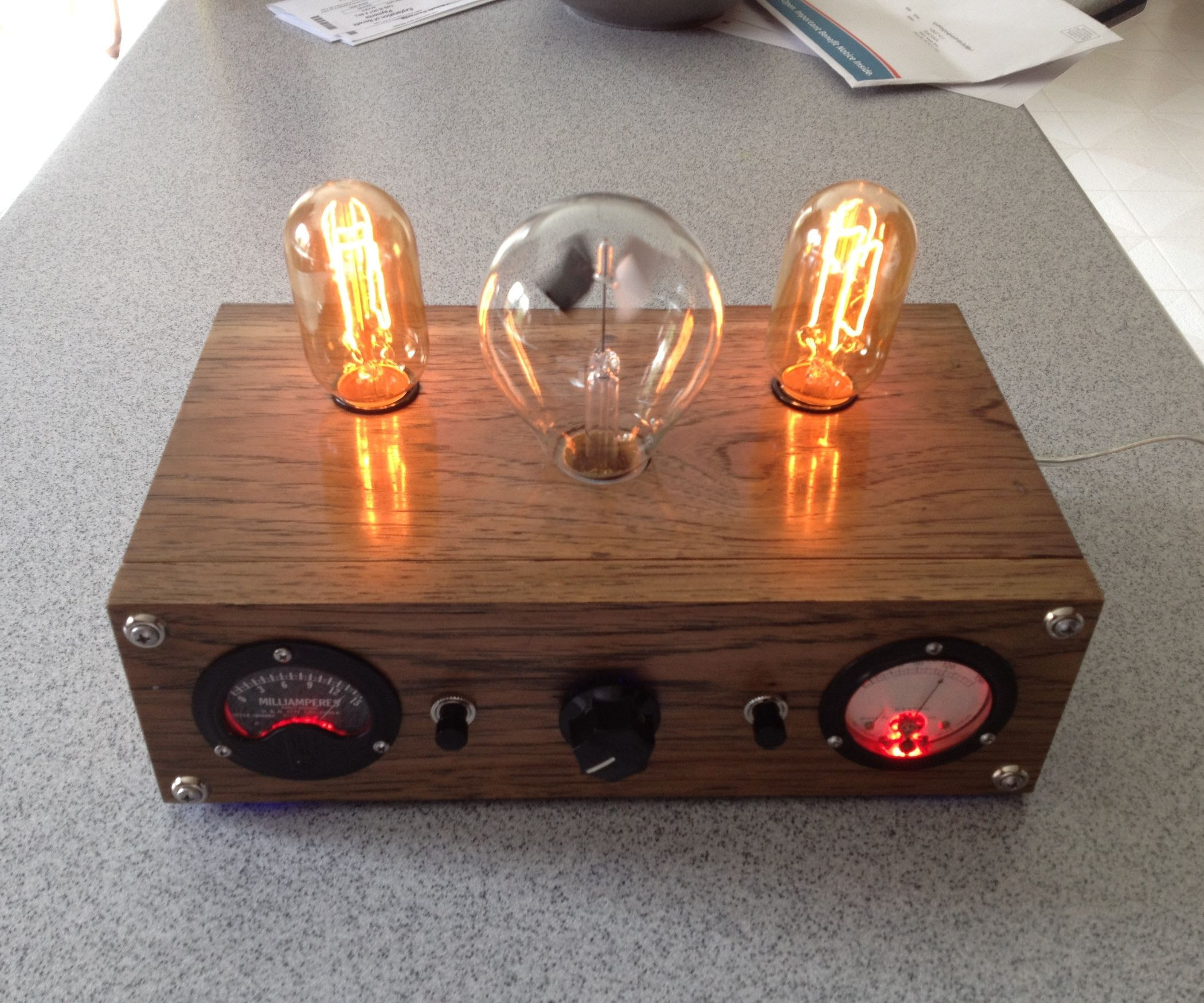 Technology Steampunk Lamp Featured Instructables   Explore The Biggest How  To And DIY Community Where People Make And Share Inspiring, Entertaining,  ...