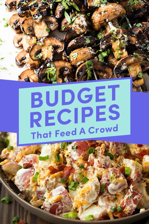 24 Affordable Recipes To Make For Your Next Summer Party Affordable Party Food Crowd Pleasing Recipes Cheap Party Food
