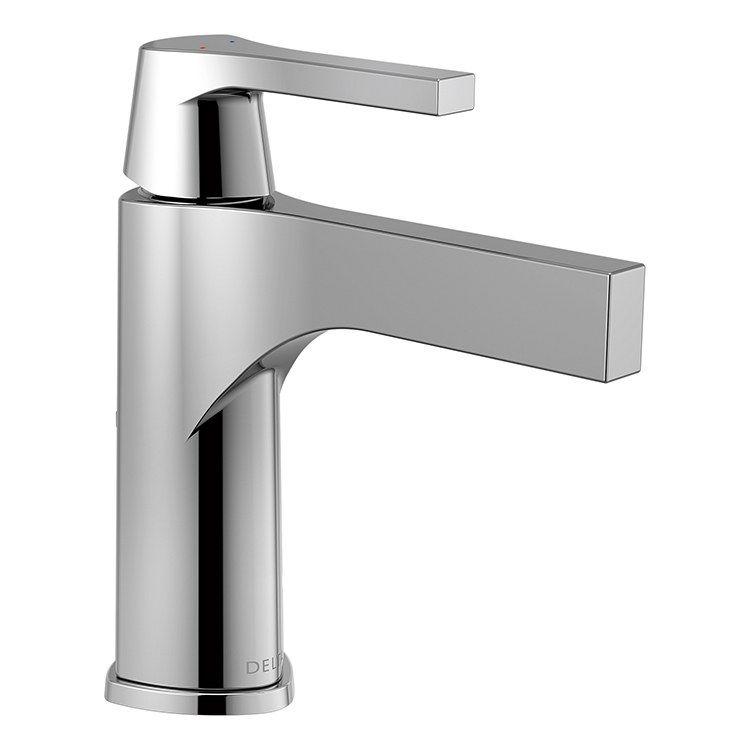 Zura Single Handle Bathroom Faucet In 2020 Single Hole Bathroom Faucet Single Handle Bathroom Faucet Bathroom Faucets