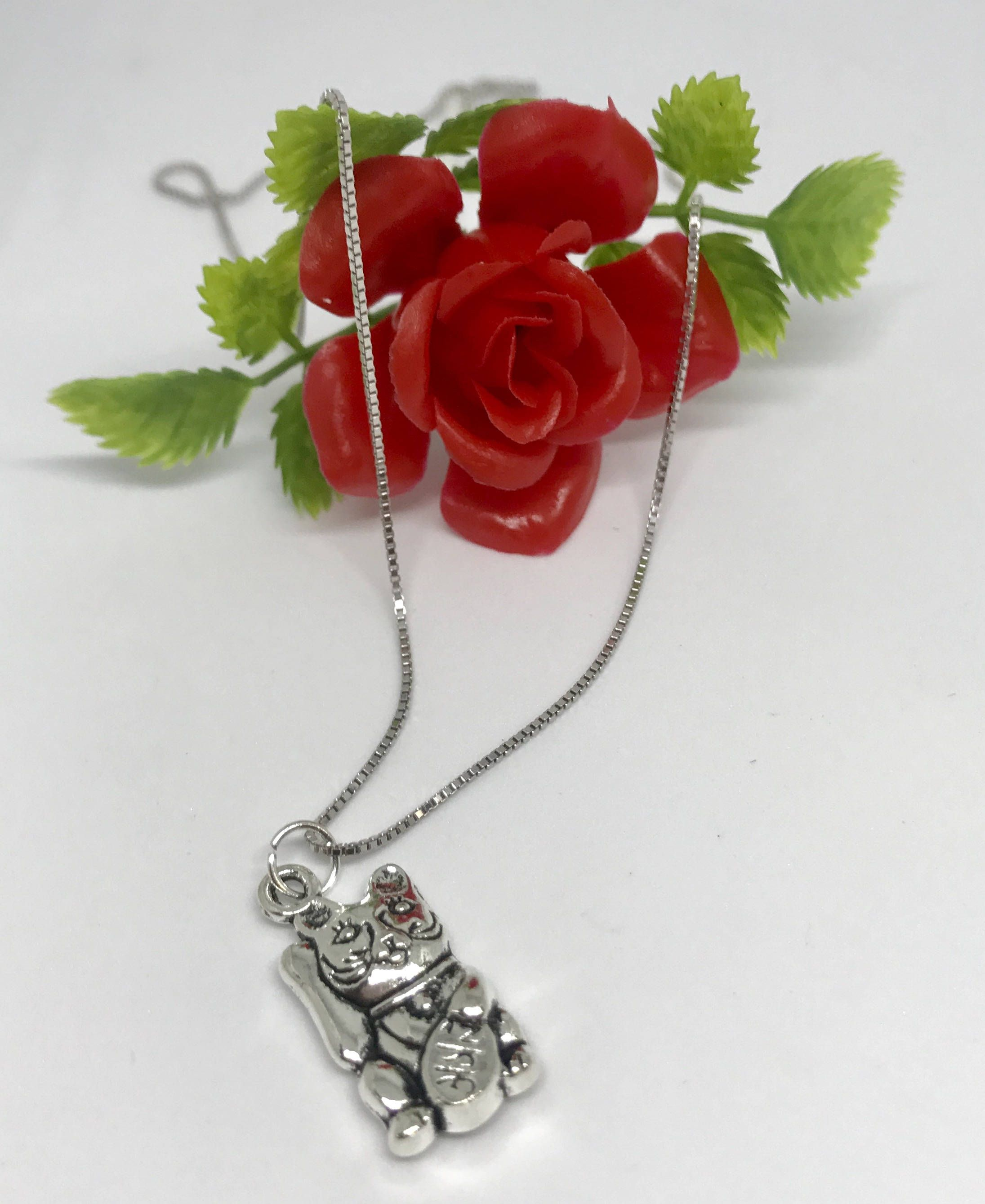 handmade by jewelry img necklace cat products dipped radley silver b small jewellery