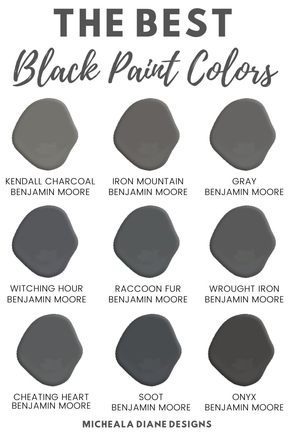 Benjamin Moore Cheating Heart Google Search In 2020 Black Paint Color Paint Colors For Home Paint Colors Benjamin Moore