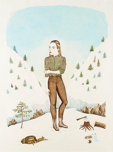 Emma Åkerman, Village of the Swedish Lesbian Lumberjacks, 2010