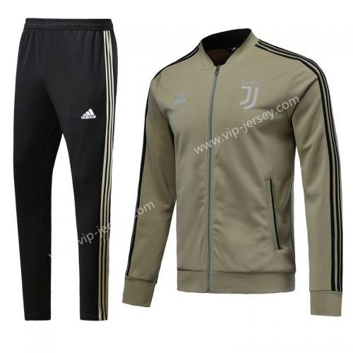 80e3db046 2017-18 Juventus Apricot Soccer Jacket Uniform