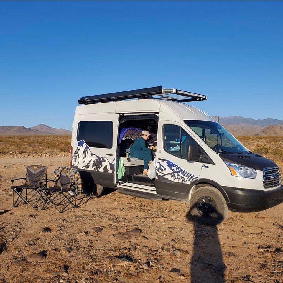 Weekendwarrior At Zion In Vandoit Campervan Adventurevan